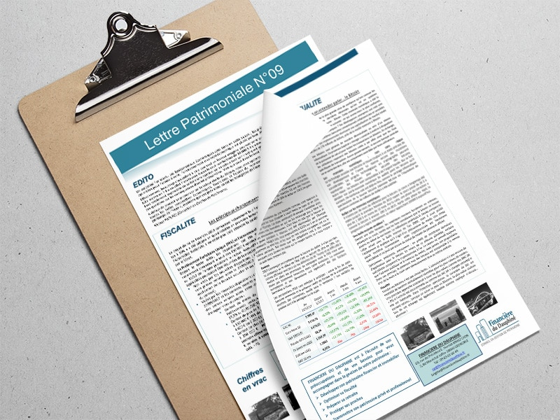 Actualités fiscales et juridiques sur la gestion de patrimoine